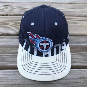 Reebok Hats Titans NFL Youth Cap ONFIELD Blue